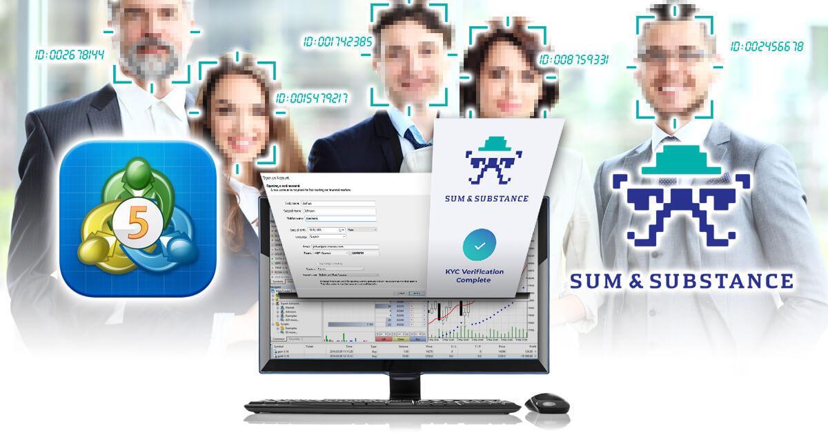 MT5、SumsubとKYCサービス機能を統合