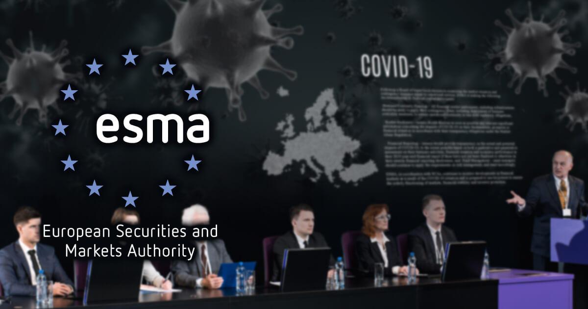 ESMA、新型コロナウイルス関連のアクションプランを公表