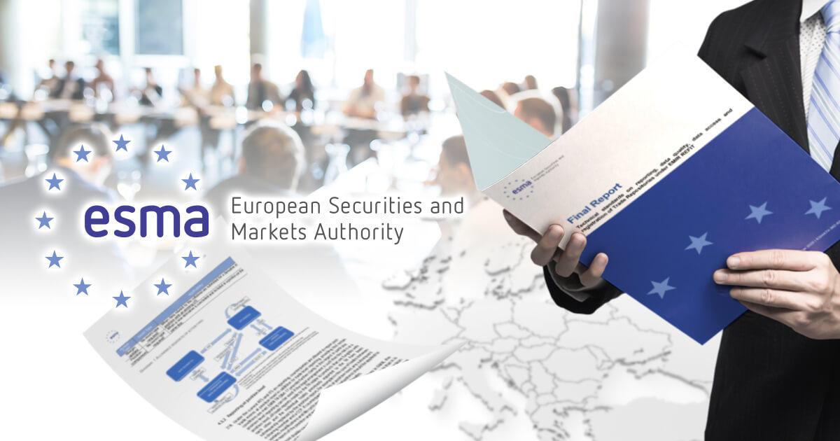 ESMA、規制適合性及び実績プログラムの技術的基準に係る最終草案を公表