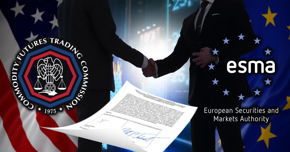 ESMA、CFTCと覚書を締結
