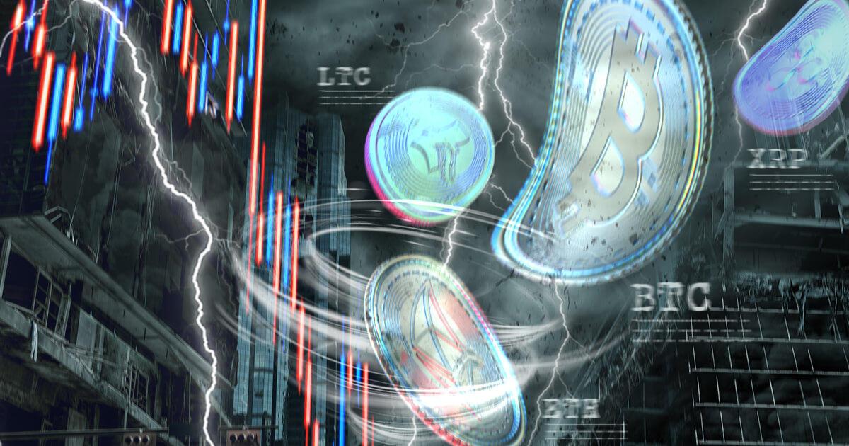 ビットコイン価格、一時的に3万ドル付近にまで下落