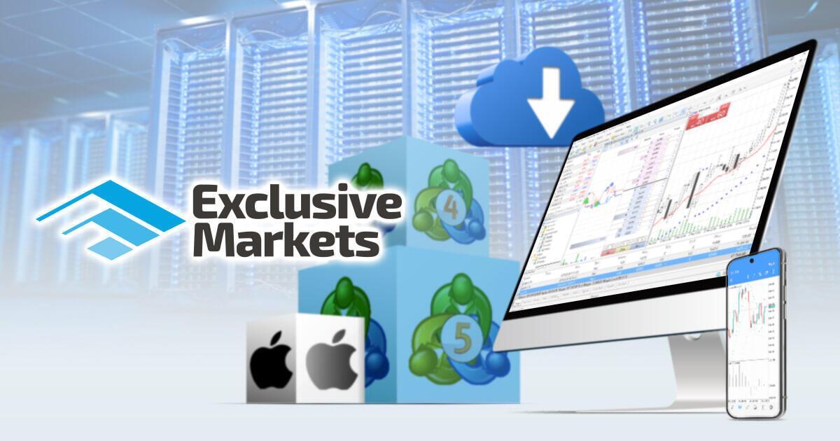 Exclusive Markets、Mac版MT4/MT5アプリをリリース