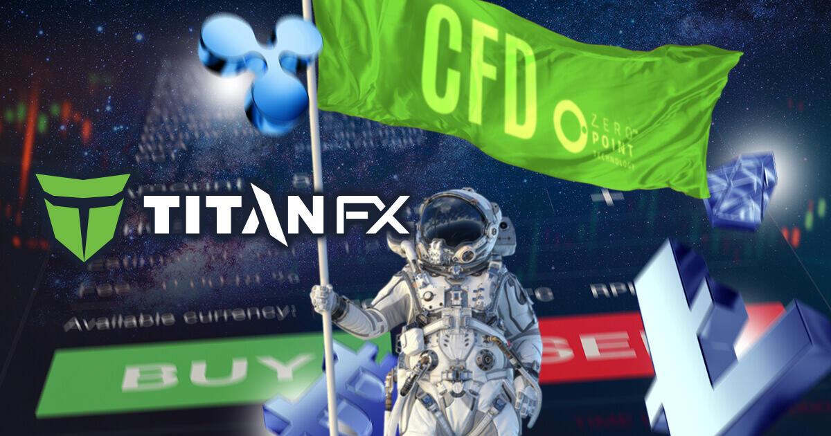 Titan FX、18種類に及ぶ仮想通貨CFDの取り扱いを開始