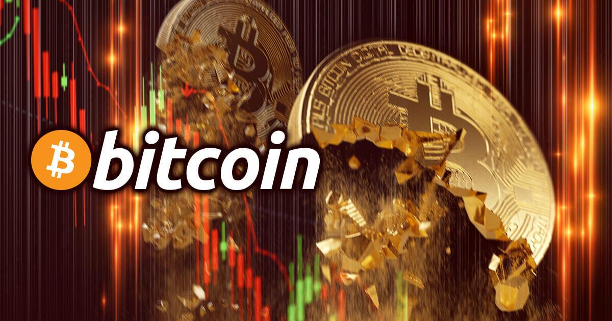 ビットコイン価格、一時3万ドル割れの展開