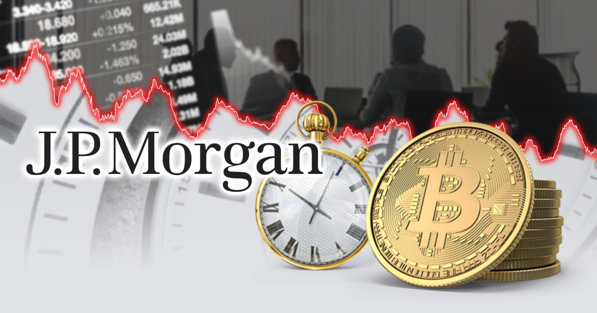 JPモルガン、ビットコイン価格は短期的に好転しないと予想