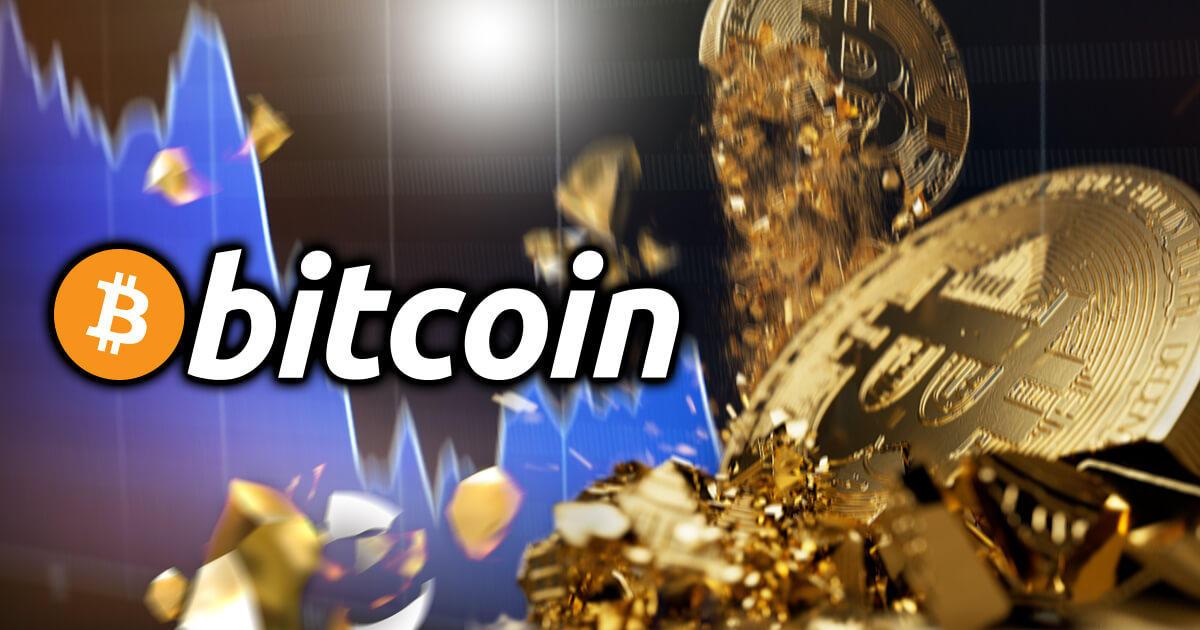 ビットコイン価格、3万ドルを割り込む