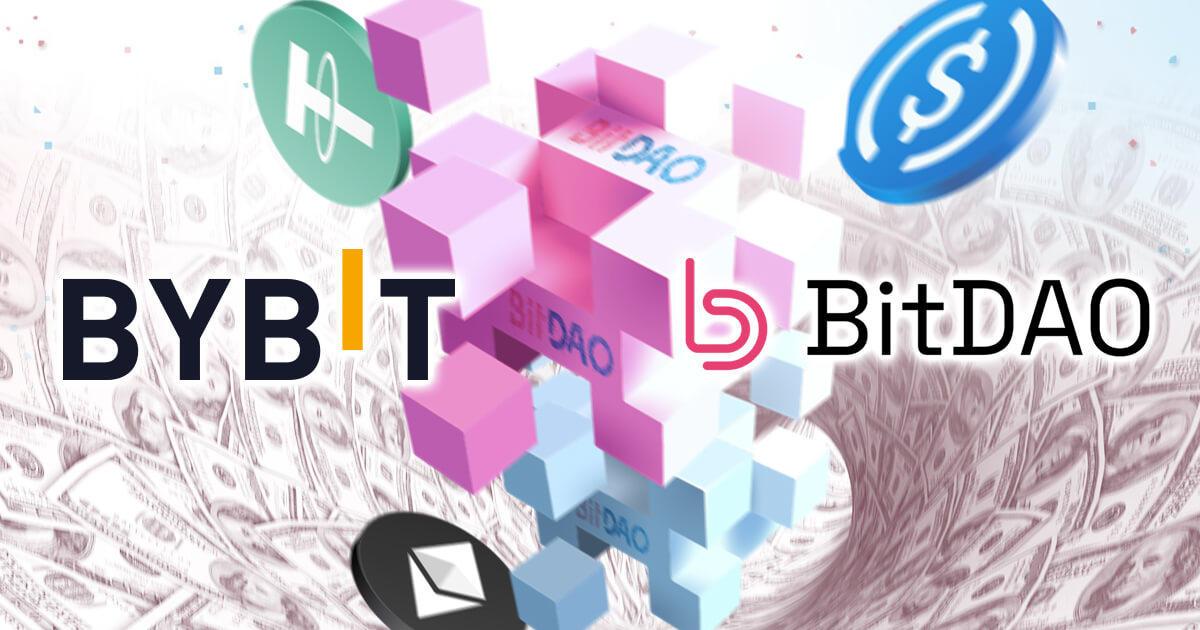 BitDAO、Bybitから約4,720万ドルの資金提供を受ける