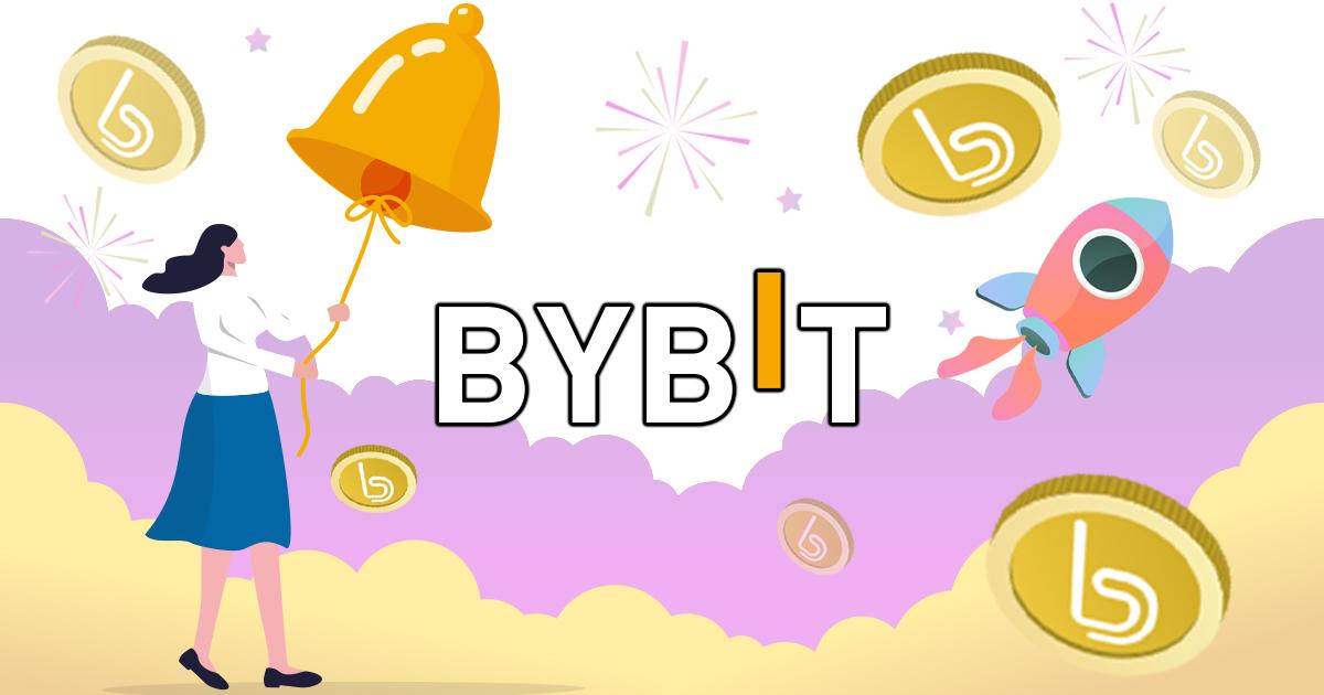 BITトークンがBybitに上場!トークン配布イベントも実施中
